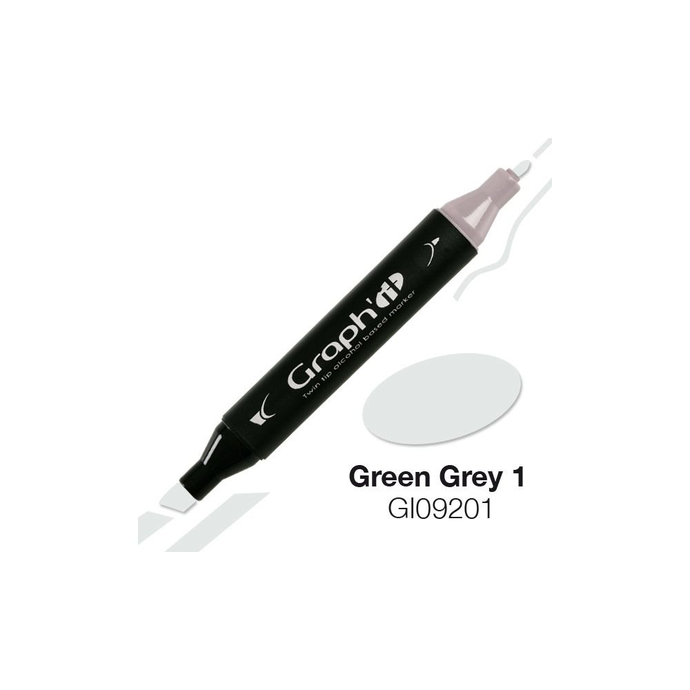GRAPH\'IT Marqueur alcool 9201 - Green Grey 1