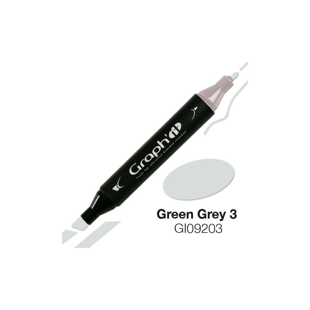 GRAPH\'IT Marqueur alcool 9203 - Green Grey 3