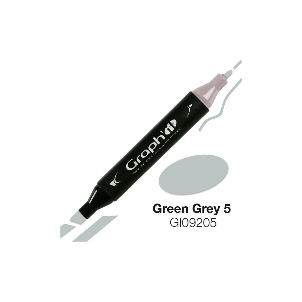 GRAPH\'IT Marqueur alcool 9205 - Green Grey 5