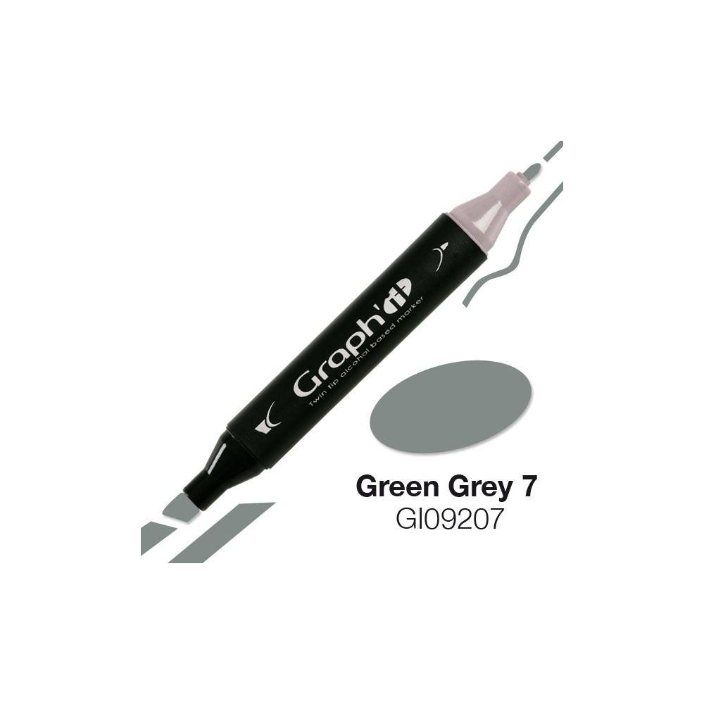 GRAPH\'IT Marqueur alcool 9207 - Green Grey 7