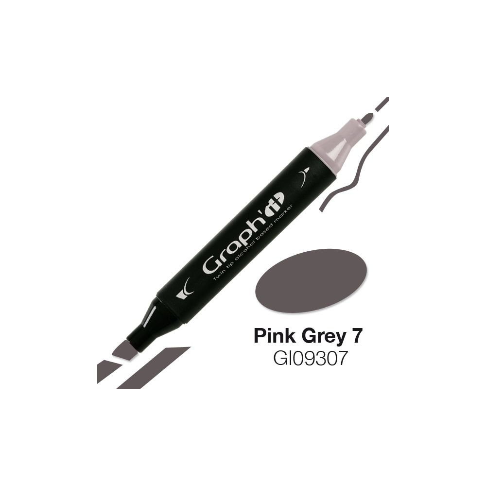GRAPH\'IT Marqueur alcool 9307 - Pink Grey 7