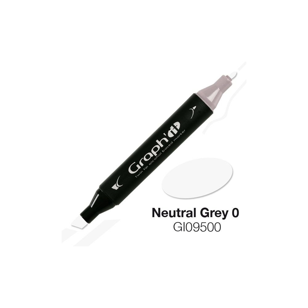 GRAPH\'IT Marqueur alcool 9500 - Neutral Grey 0