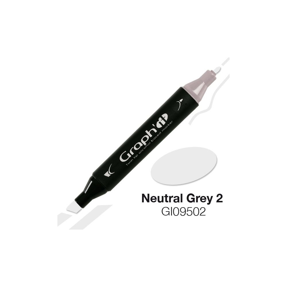 GRAPH\'IT Marqueur alcool 9502 - Neutral Grey 2