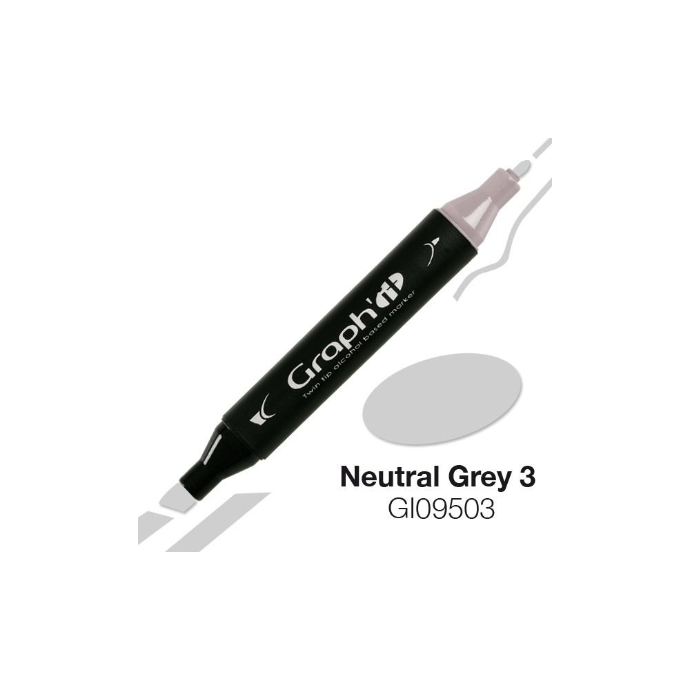 GRAPH\'IT Marqueur alcool 9503 - Neutral Grey 3