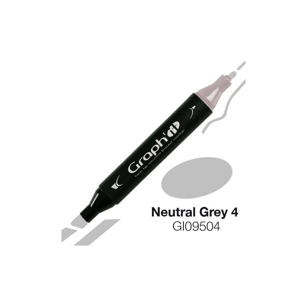 GRAPH\'IT Marqueur alcool 9504 - Neutral Grey 4