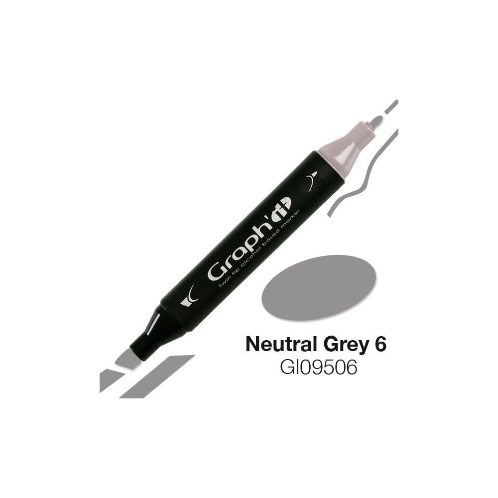 GRAPH\'IT Marqueur alcool 9506 - Neutral Grey 6
