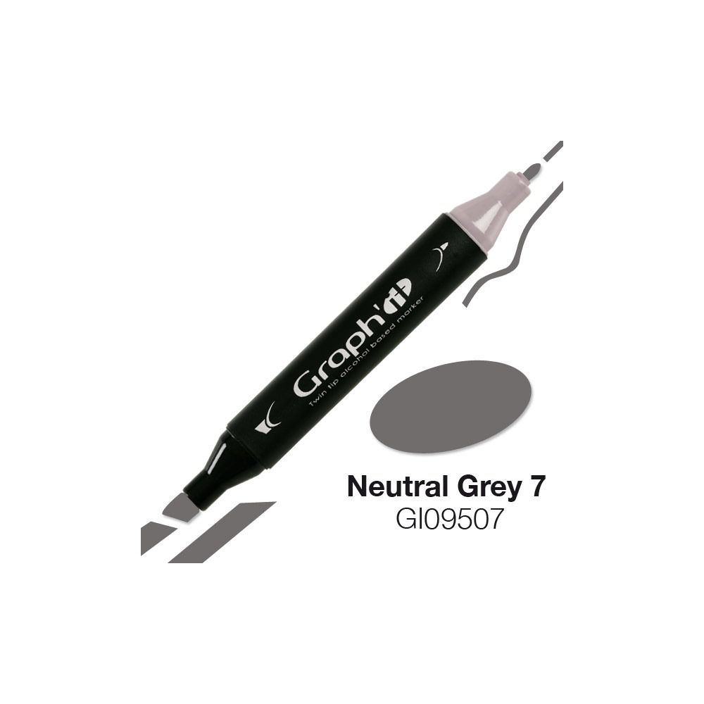 GRAPH\'IT Marqueur alcool 9507 - Neutral Grey 7