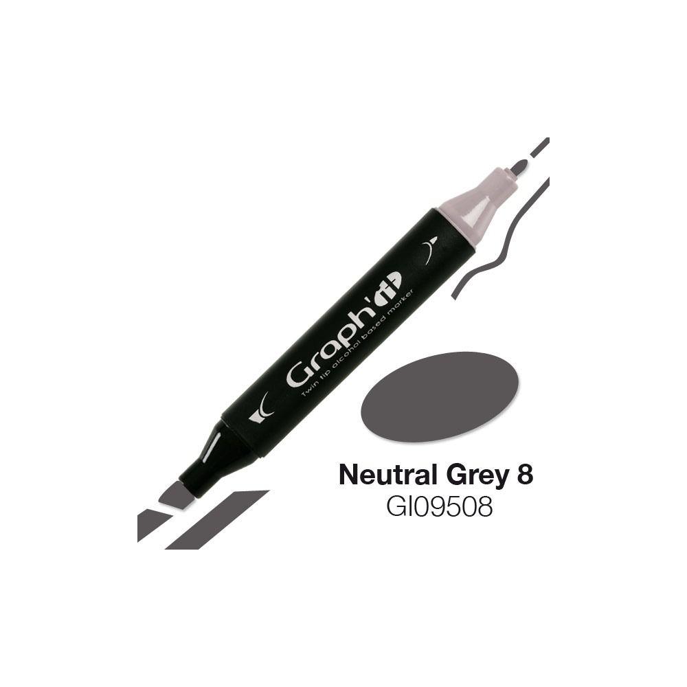 GRAPH\'IT Marqueur alcool 9508 - Neutral Grey 8