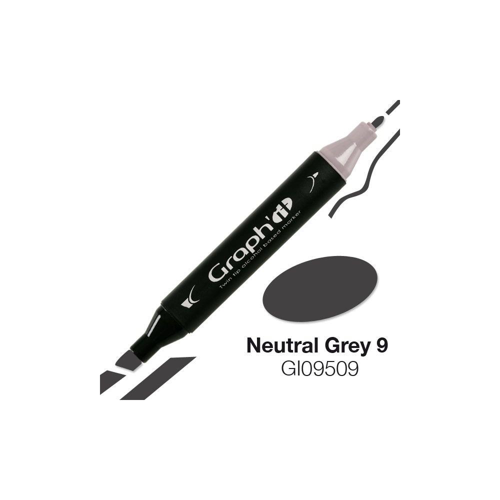 GRAPH\'IT Marqueur alcool 9509 - Neutral Grey 9