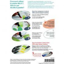 GRAPH\'IT Mix\'it palette pour marqueurs
