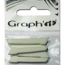 GRAPH\'IT Sachet de 6 pointes larges