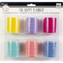Happy Planner Expander (Big) Disc Value Pack 66/Pkg Multi Colors