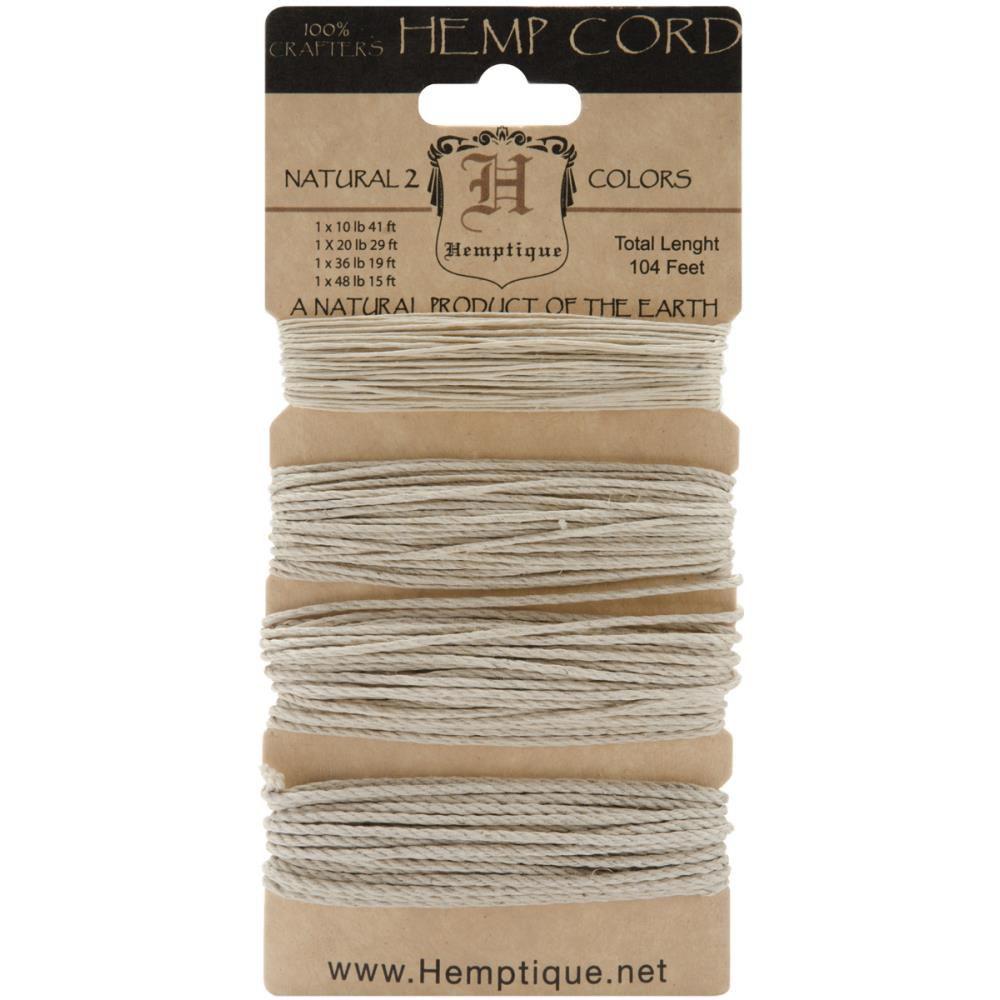 Hemp Cord 104\'  Natural