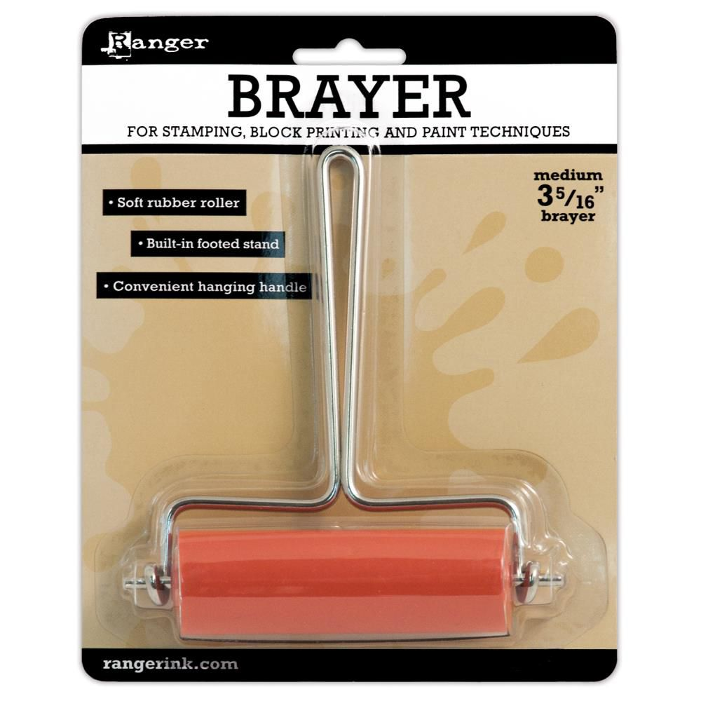 "Inkssentials Inky Roller Brayer 3.3125"" Medium"