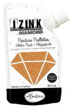 IZINK DIAMOND Peinture Paillettes - Doré Cuivré