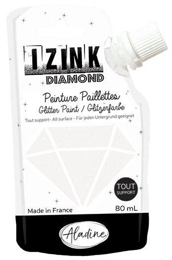 IZINK DIAMOND Peinture Paillettes - Nacre