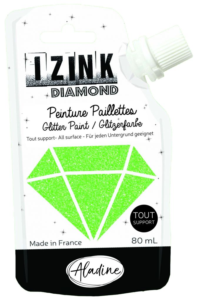 IZINK Peinture Diamond - Vert Clair