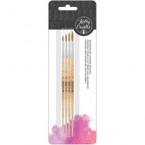Kelly Creates Round Watercolor Round Brush Set
