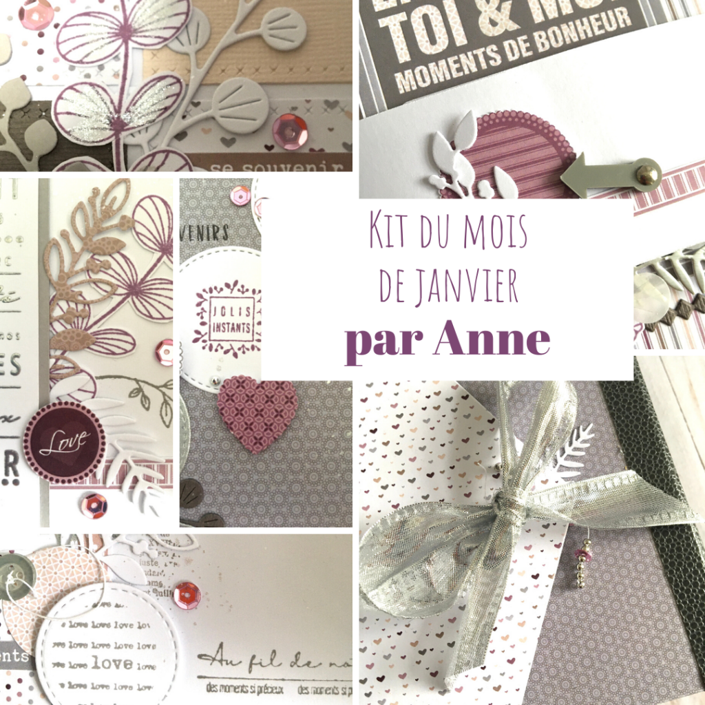 KIT ALBUM DECEMBRE 2020 PAR ANNE