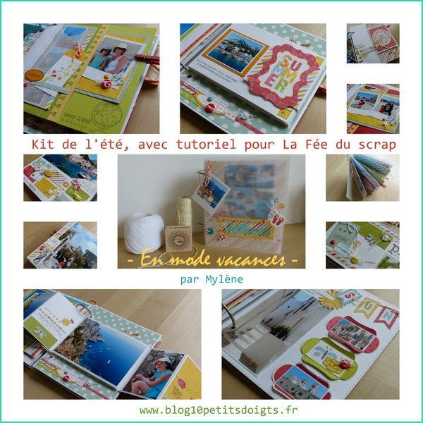 KIT ALBUM ETE 2016 PAR MYLENE