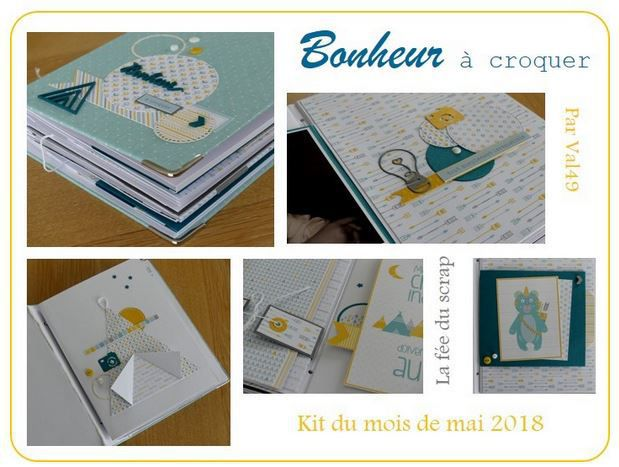 KIT ALBUM MAI 2018 PAR VAL49