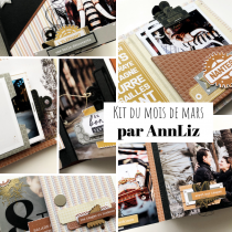 KIT ALBUM MARS 2019 PAR ANNLIZ