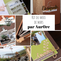 KIT ALBUM MARS 2020 PAR AURORE