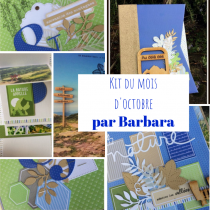 KIT ALBUM OCTOBRE 2019 PAR BARBARA