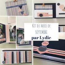 KIT ALBUM SEPTEMBRE 2019 PAR LYDIE