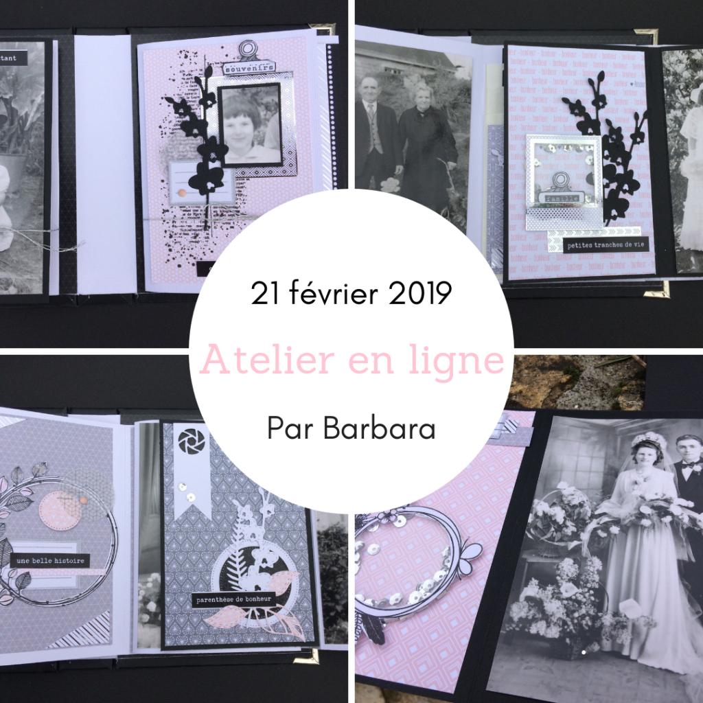 KIT ATELIER EN LIGNE FEVRIER 2019 PAR BARBARA