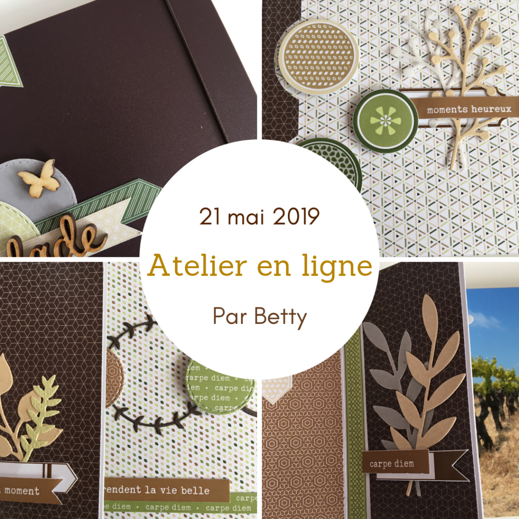 KIT ATELIER EN LIGNE MAI 2019 PAR BETTY