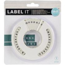 Label IT Roulette à caractères Sans Serif Petit
