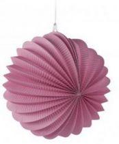 Lampion en papier - Rose Poudre