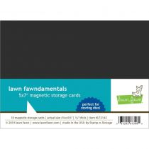 """Lawn Fawn Magnetic Storage Cards 5\""""X7\"""" 10/Pkg"""