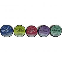 Lindy\'s Stamp Gang Flat Glitzy Magicals .25oz 5/Pkg -Mad Hatter