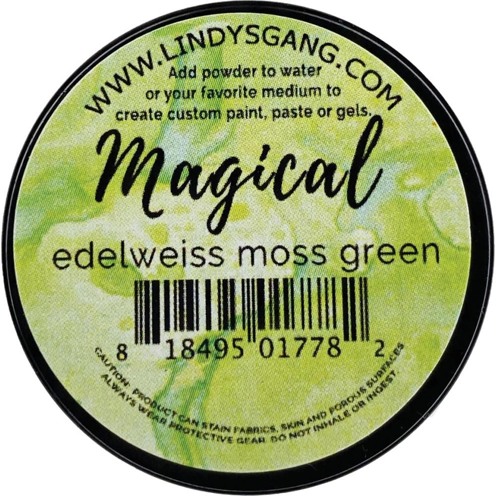 Lindy\'s Stamp Gang Magicals Individual Jar - Edelweiss Moss Green