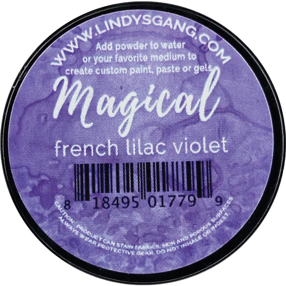 Lindy\'s Stamp Gang Magicals Individual Jar - French Lilac Violet