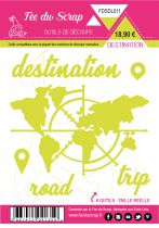 LOT DE 6 DIES DESTINATION