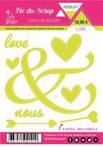 LOT DE 8 DIES LOVE