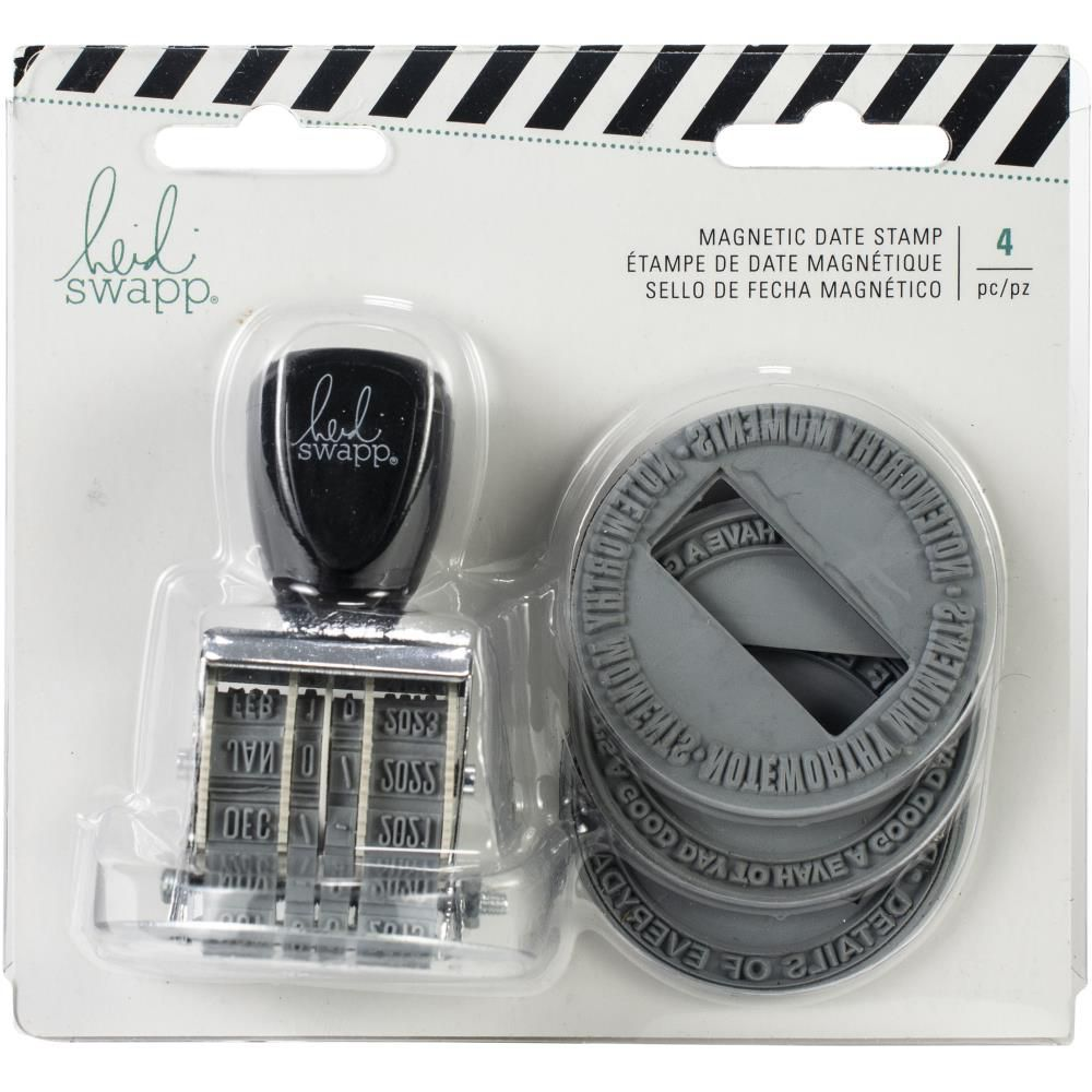 MAGNETIC ROLLER DATE STAMP