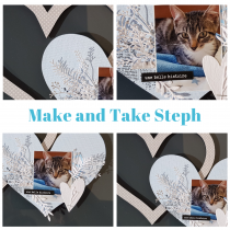 Make and Take 6 avril 12h00-13h00 home déco avec Steph87