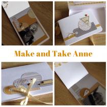 Make and Take 6 avril 15h30-17h00 mini album avec Anne