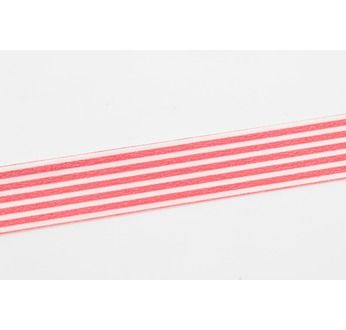MASKING TAPE MOTIF LIGNES ROUGE / BORDER RED
