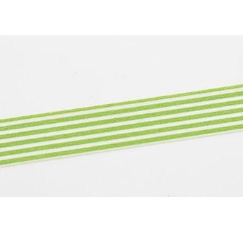 MASKING TAPE MOTIF LIGNES VERT CLAIR / BORDER LIGHT GREEN