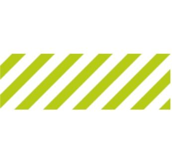 MASKING TAPE MOTIF RAYURES / STRIPE SHOCKING GREEN (VERT FLUO)
