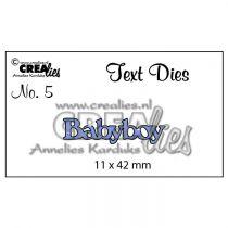 Matrice de coupe texte no. 05 babyboy