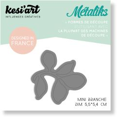 METALIKS FORME DE DECOUPE SET MINI BRANCHE
