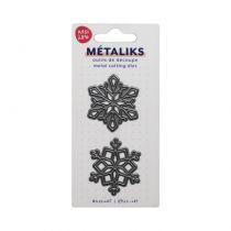 METALIKS FORME DE DECOUPES - Snowflakes