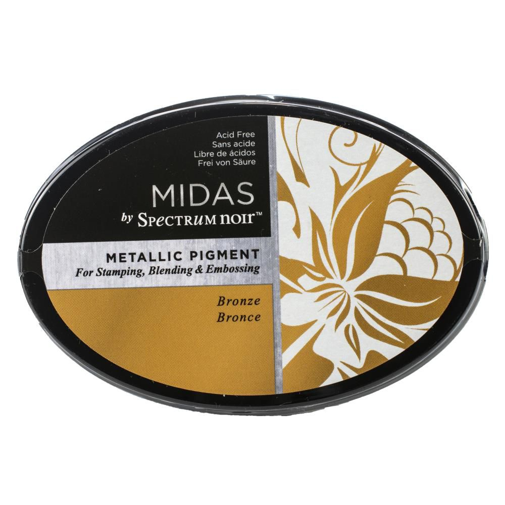 MIDAS METALLIC PIGMENT INK PAD - BRONZE