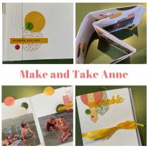 Mini atelier (Make and Take) 4 avril 12h00-13h00 mini album avec Anne